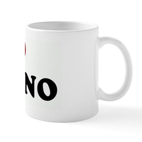 I Love My NINO Mug