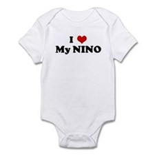 I Love My NINO Infant Bodysuit
