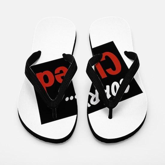 sorry closed Flip Flops