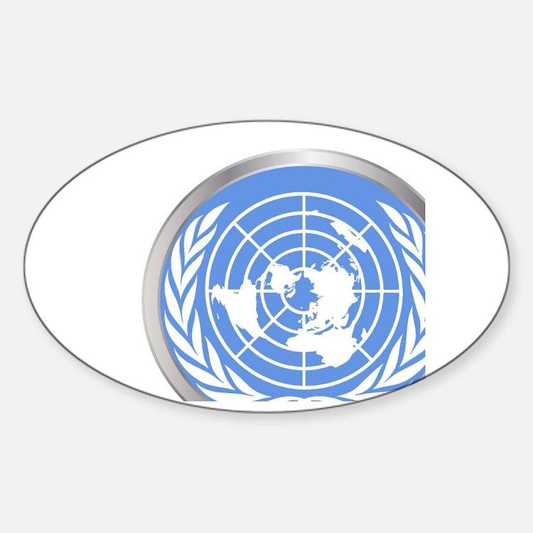 United Nations Emblem Decal