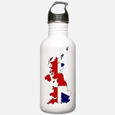 Cool Northern ireland flag Water Bottle