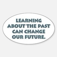 History Teacher Oval Decal
