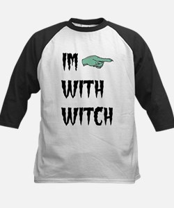 Im with witch Baseball Jersey