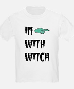 Im with witch T-Shirt