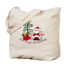 Our First Christmas Santa/TWI Tote Bag
