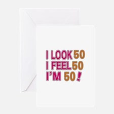 I Look 54 Greeting Card