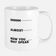 COFFEE - NOW YOU MAY SPEAK Mugs