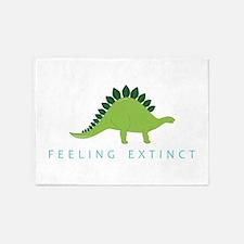 Feeling Extinct 5'x7'Area Rug