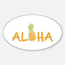 Aloha Pineapple Decal