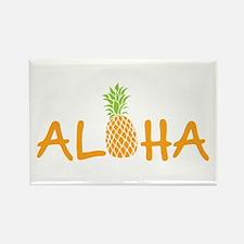 Aloha Pineapple Magnets