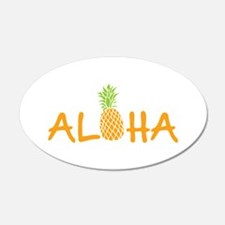 Aloha Pineapple Wall Decal