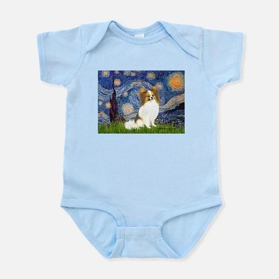 Starry Night Papillon (f) Infant Bodysuit