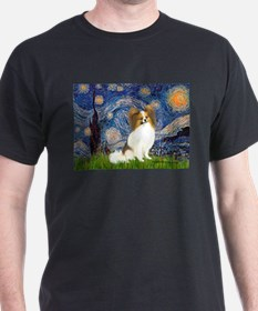 Starry Night Papillon (f) T-Shirt