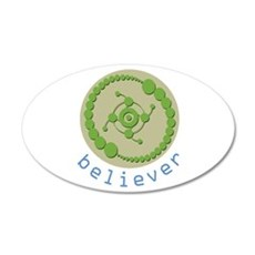 Crop Circle Believer Wall Decal