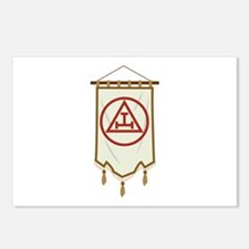 Royal Arch Freemason Banner Postcards (Package of