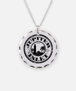 Cute Florida Necklace Circle Charm