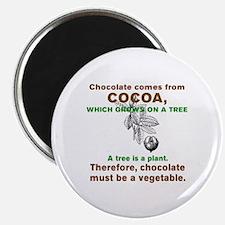 Cute Chocolate Magnet