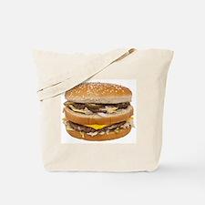 Double Cheeseburger Tote Bag