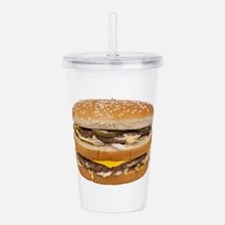 Double Cheeseburger Acrylic Double-wall Tumbler