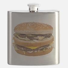 Double Cheeseburger Flask