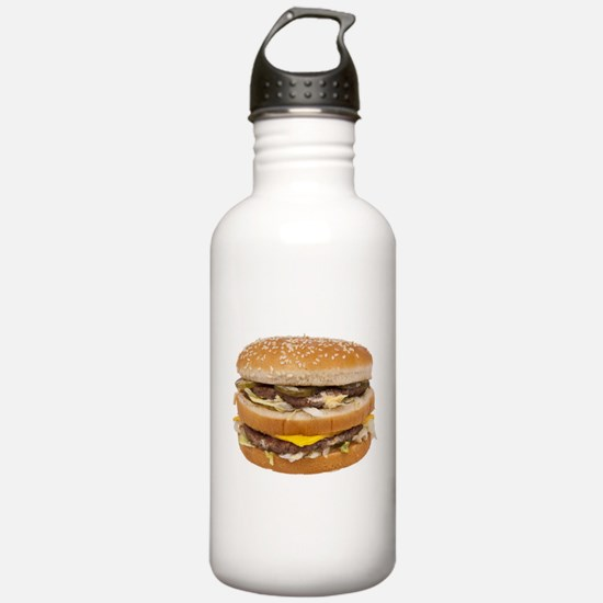 Double Cheeseburger Water Bottle