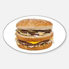 Double Cheeseburger Decal