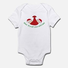 First Christmas TWINS Infant Bodysuit
