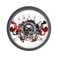 Lucky Pirates Wall Clock