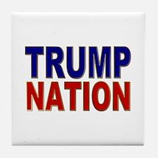 Trump Nation 2016 Tile Coaster