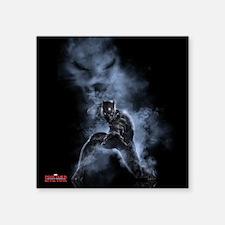 "Black Panther Smoke - Capta Square Sticker 3"" x 3"""