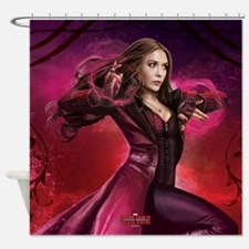 Scarlet Witch Hex - Captain America Shower Curtain