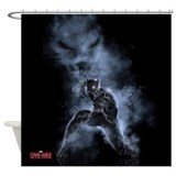 Marvel black panther Shower Curtains