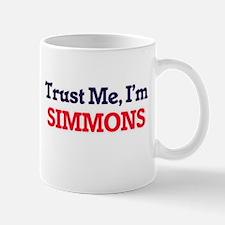 Trust Me, I'm Simmons Mugs