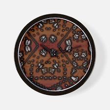 Unique Silver fox Wall Clock