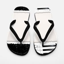 Unique Ebony Flip Flops