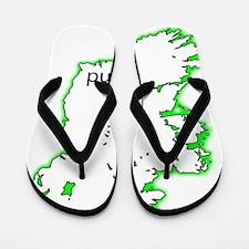Cute Northern europe Flip Flops