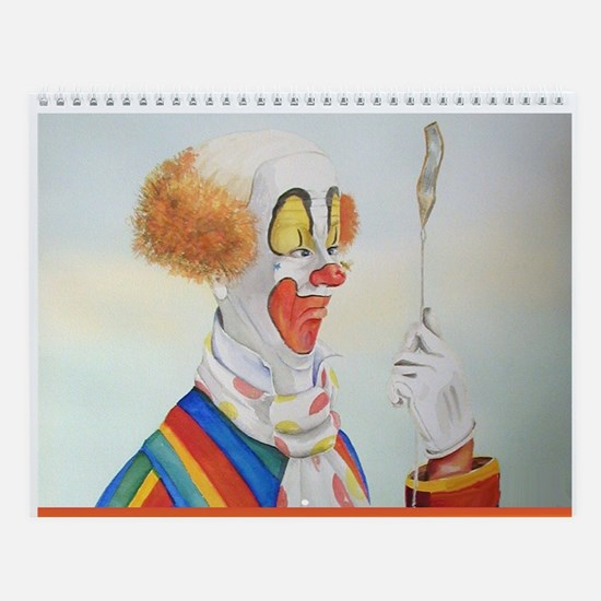 Clown Wall Calendar