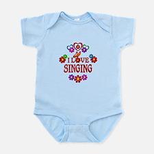 I Love Singing Infant Bodysuit