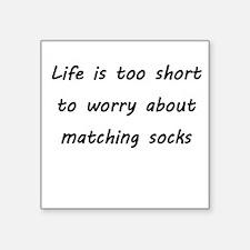 Matching socks Sticker