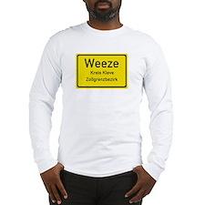 Weeze Sign Long Sleeve T-Shirt
