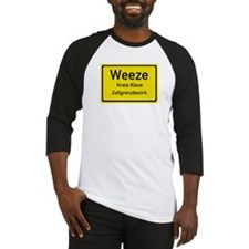 Weeze Sign Baseball Jersey