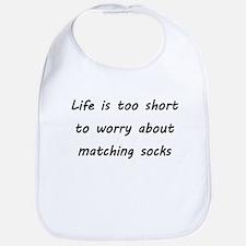 Matching socks Bib