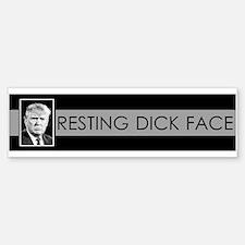 Trump: Resting Dick Face Bumper Bumper Bumper Sticker