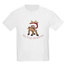 First Christmas Deer T-Shirt