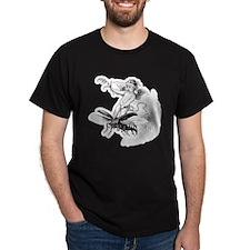 """Boy Riding Wasp"" T-Shirt"