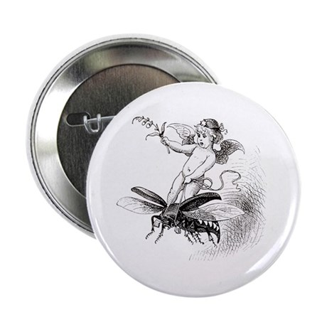 """""""Boy Riding Wasp"""" 2.25"""" Button (10 pack)"""