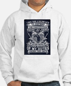 OATH TO DEFEND CONSTITUTION. Hoodie