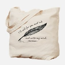 Write My Mind Tote Bag