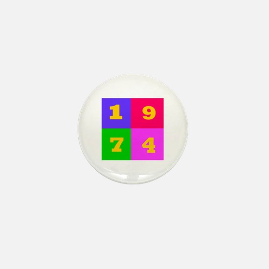 1974 Years Designs Mini Button
