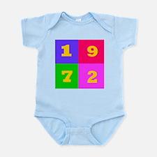 1972 Years Designs Infant Bodysuit